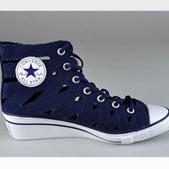 a6dcf69dcad Converse Shoes - Converse Hi-ness Cutout Wedge Sneakers